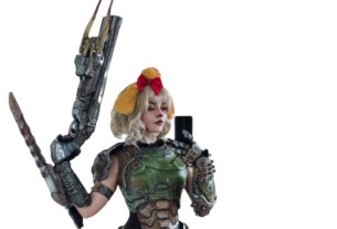 Doomguy And Isabelle Collide Again In Epic Cosplay 3