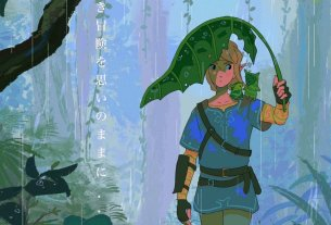 Random: These Zelda: Breath Of The Wild Fanmade Posters Turn The Game Into A Ghibli Movie 4