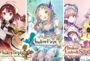 The Atelier Mysterious Trilogy Deluxe Pack Launches Today, New Trailer 2