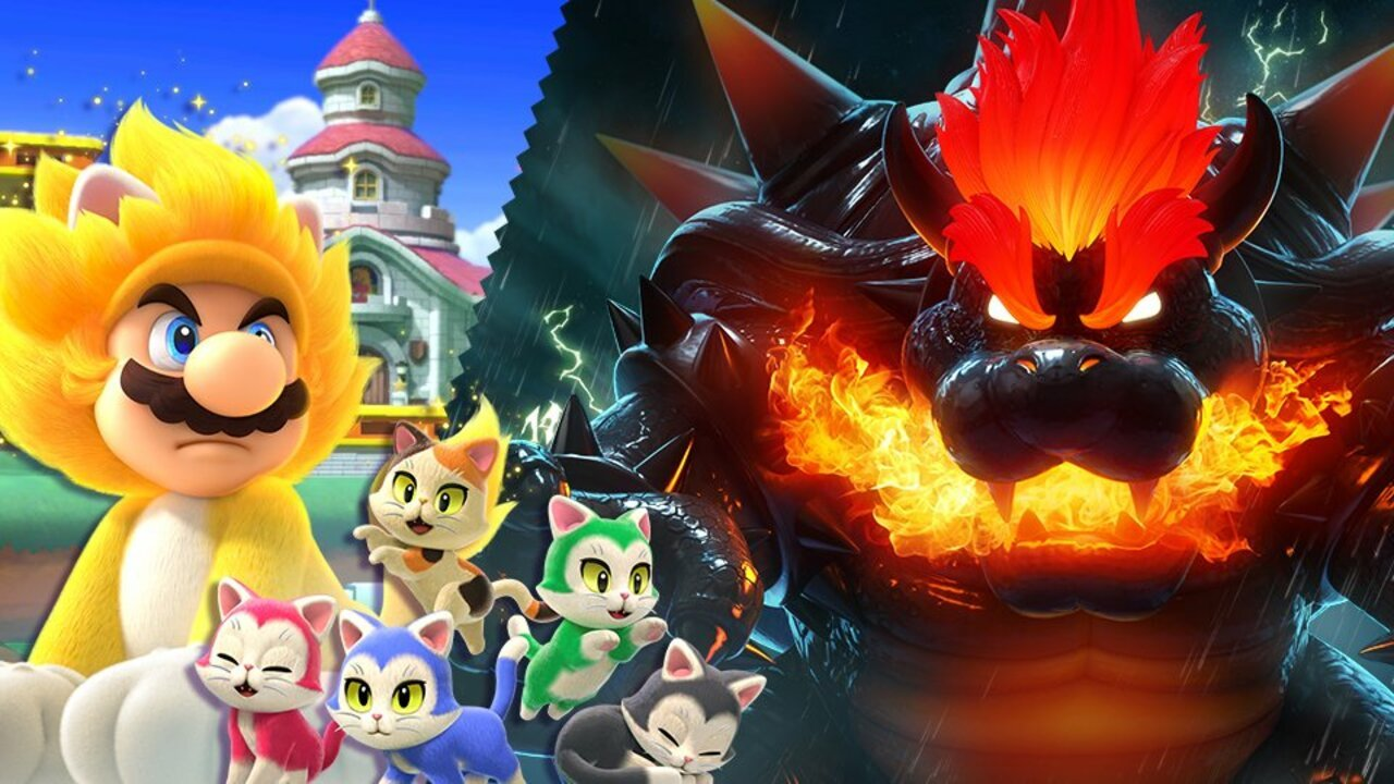 Three Brand New Bowser's Fury Spirits Are Joining Smash Bros. Ultimate 1
