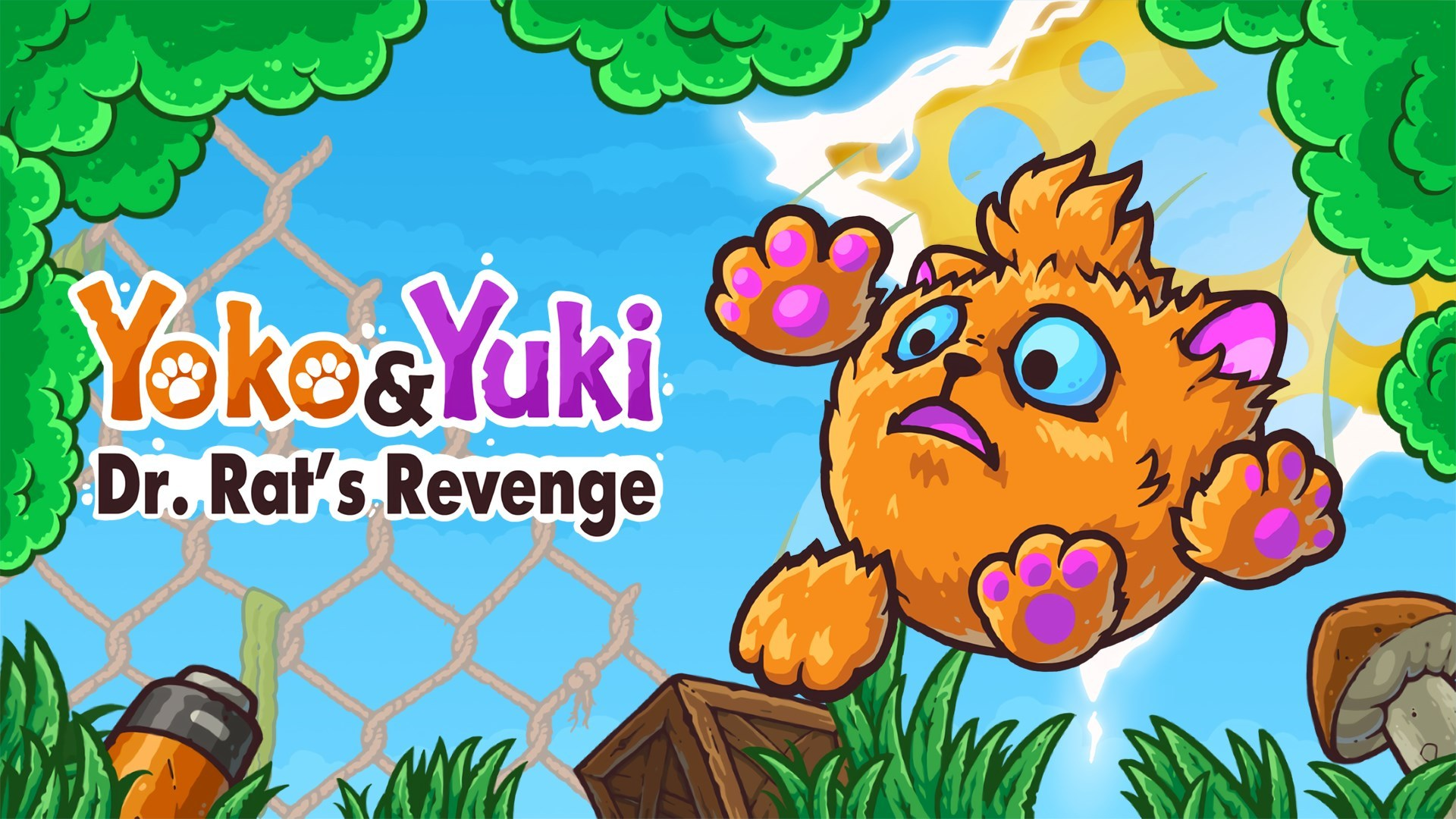 Yoko & Yuki: Dr. Rat's Revenge Is Now Available For Digital Pre-order And Pre-download On Xbox One And Xbox Series X|S 1