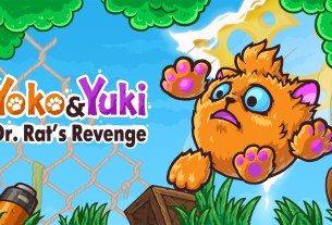 Yoko & Yuki: Dr. Rat's Revenge Is Now Available For Digital Pre-order And Pre-download On Xbox One And Xbox Series X|S 5