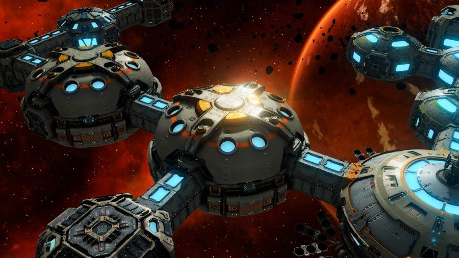 Base One Brings Interstellar Colony Building To Switch This Year 1