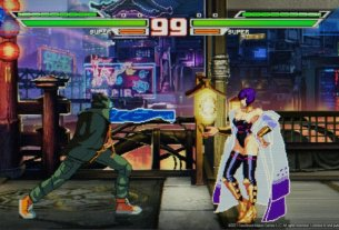 Blazing Strike Is A Fighting Game Inspired By The Arcade Classics 3