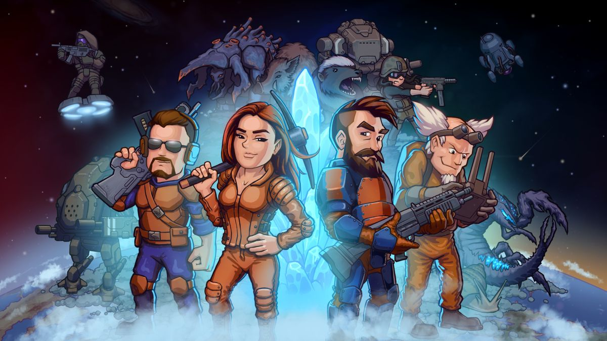Build a sprawling sci-fi base with your buddies in CryoFall Cryofall sci-fi survival game 1