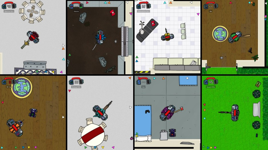 Fight Your Friends in the Fast-Paced Shooter Cymatically Muffed 1