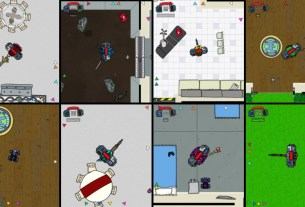 Fight Your Friends in the Fast-Paced Shooter Cymatically Muffed 3