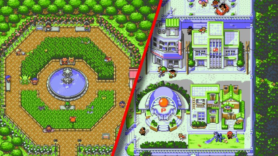 """""""Pokémon Redrawn"""" Is A Pixel Art Project That's Redesigning Johto And Kanto 1"""