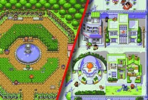 """""""Pokémon Redrawn"""" Is A Pixel Art Project That's Redesigning Johto And Kanto 3"""