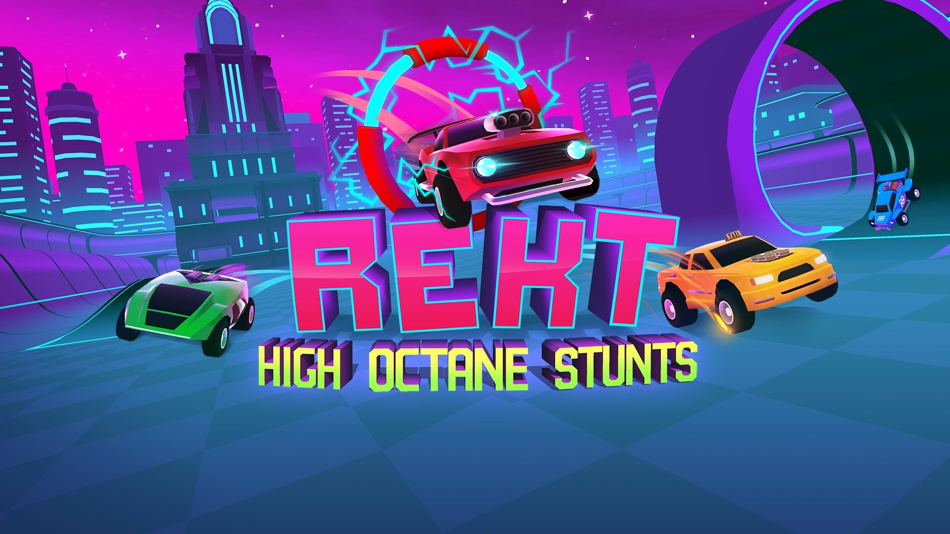 REKT! High Octane Stunts Is Now Available For Digital Pre-order And Pre-download On Xbox One And Xbox Series X|S 1