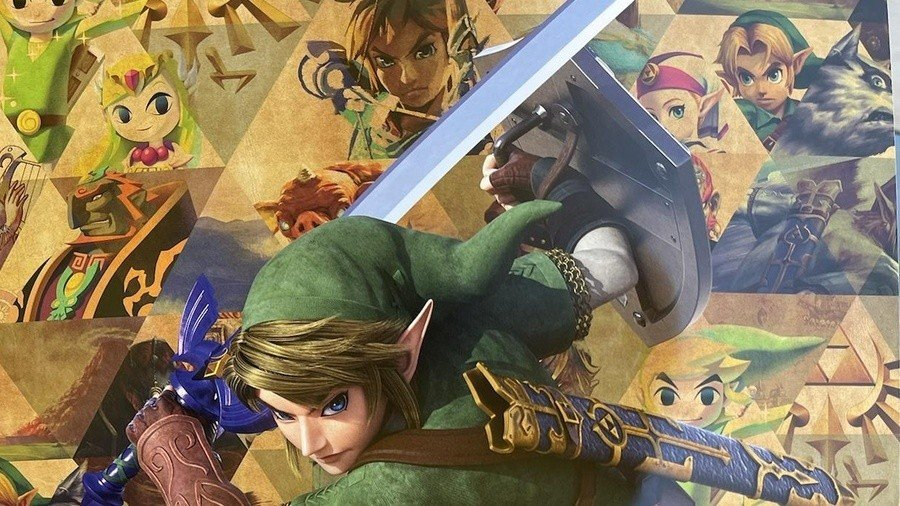 GameStop Seems To Be Giving Out Free Legend Of Zelda Anniversary Posters 1