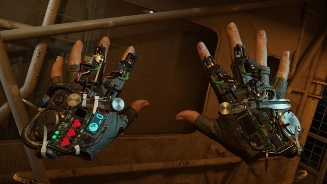 Half-Life: Alyx multiplayer mod lets you join a friend as a useless floating robot A pair of greebly hands 2