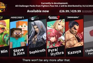 No more DLC characters for Super Smash Bros. Ultimate after second Fighters Pass, Sakurai confirms 3