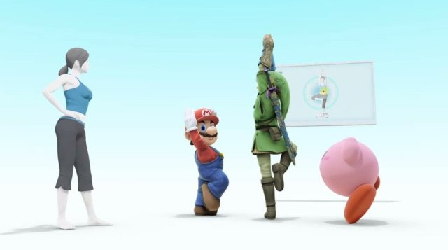 Frankly, this Smash Bros. screen is the most fun Wii Fit image we could find