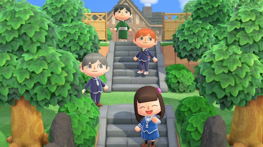 Random: Live Out Your Anime Dreams On The Animal Crossing Fruits Basket Island 1