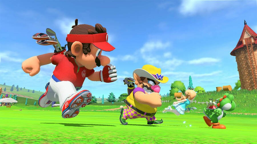 Random: Mario's Speed Golf Would Look Absolutely Ridiculous In Real Life 1
