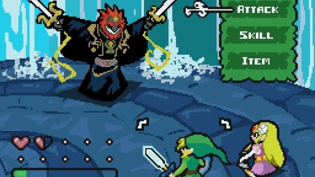 Wind Waker as a traditional RPG