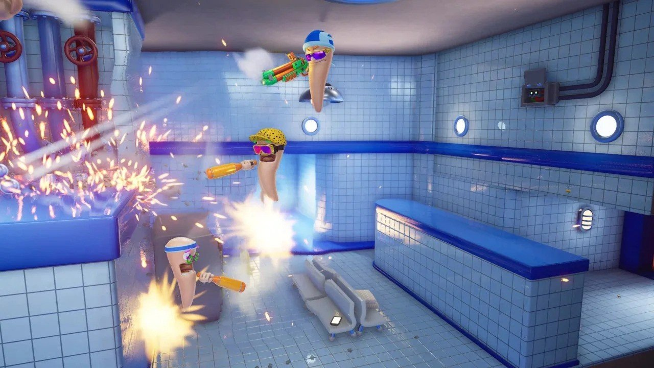 Worms Rumble Is Out Now, With Spaceport Added In Free Update 1