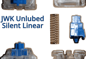 JWK Unlubed Silent Linear Switches, For The Keyboard Fanatic 5