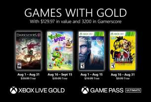 New Games with Gold for August 2021 4
