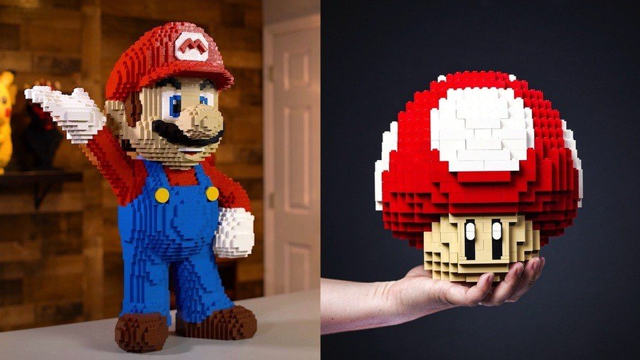 This Unofficial 'Life-Sized' LEGO Mario Can Be Yours For, Erm, $900 1