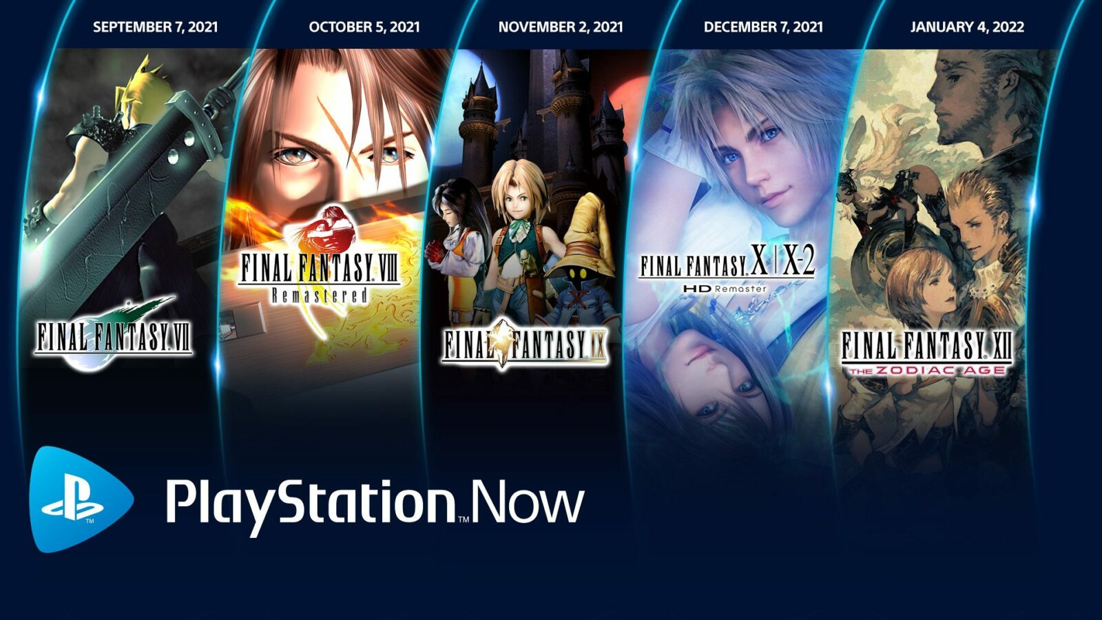 5 Final Fantasy games coming to PlayStation Now starting this month 1