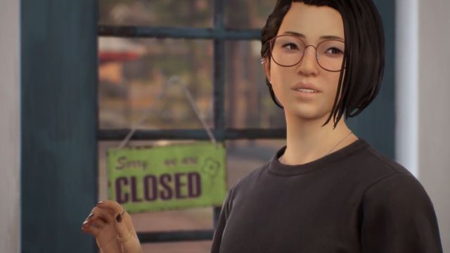 Chinese players start review-bombing Life is Strange: True Colors over Tibetan flag Protagonist Alex Chen looking at an off-camera woman who is in distress. 2