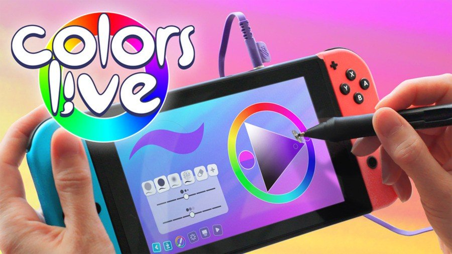 Digital Art Software Colors Live Gets A Physical Release On Switch 1
