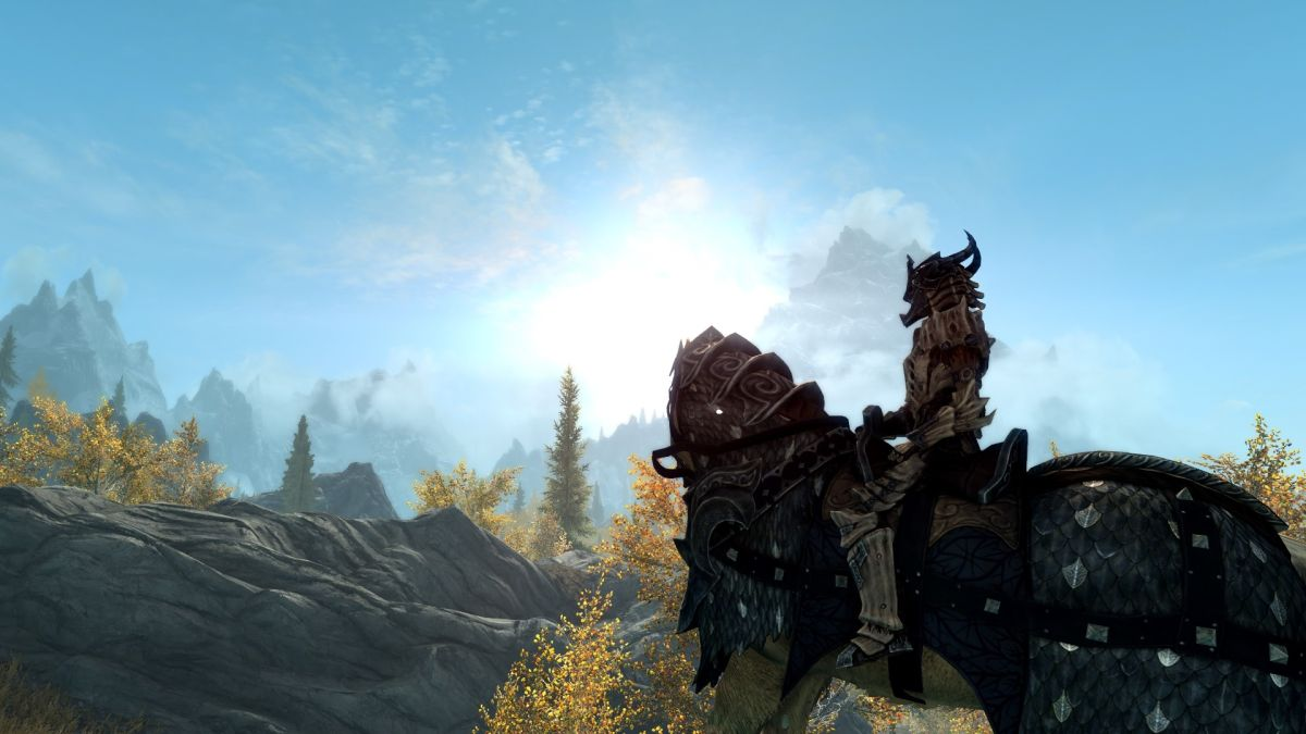 Here's a mod to boost your outdoor framerate in Skyrim Special Edition Ominous ENB makes Whiterun gloomy 1