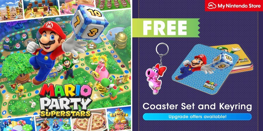 Pre-Order Mario Party Superstars From My Nintendo And Get Some Free Goodies (UK) 5