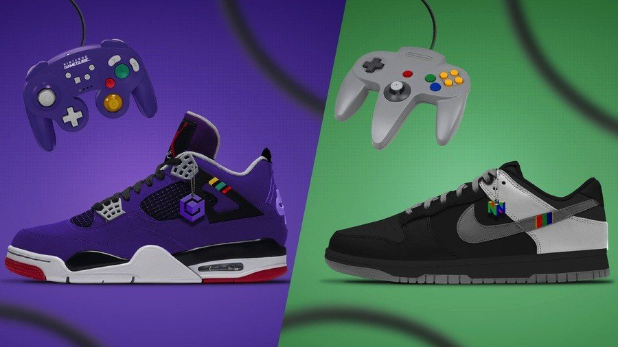 Random: These Gaming Shoe Concepts Are So Good We Wish They Were Real 1