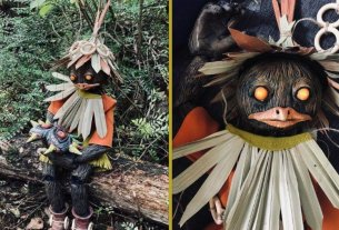 Random: This Incredible Zelda Skull Kid Puppet Is Terrifying In All The Right Ways 4