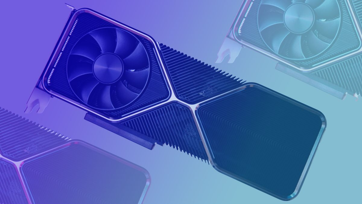 The 20GB Nvidia RTX 3080 Ti we could have had has been found down the Russian GPU mines Nvidia RTX 3080 Ti graphics card on blue gradient background 1
