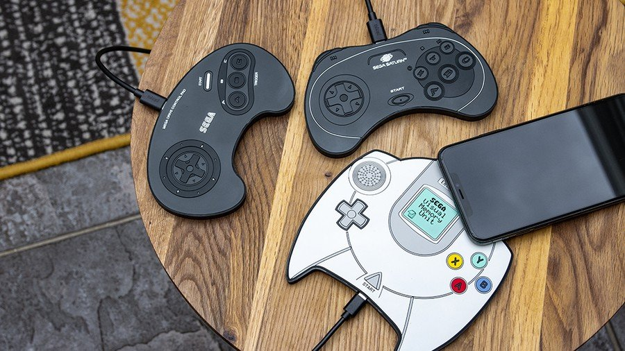 These New Sega Charging Mats Let You Wirelessly Charge Your Phone In Style 1