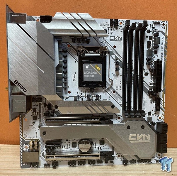 Would You Like To Build A System? The Colorful CVN B560M Gaming Frozen Motherboard 1
