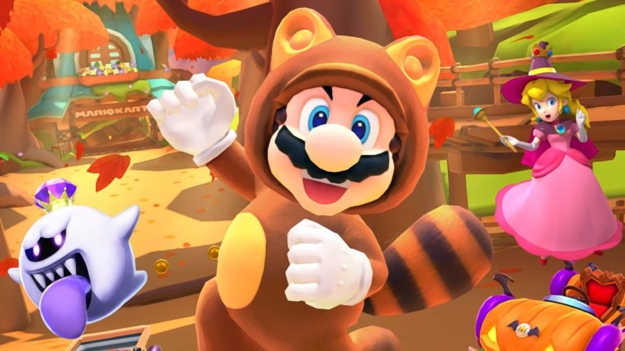 Mario Kart Tour Adds Tanooki Mario And The Super Leaf In Its Next Update 1