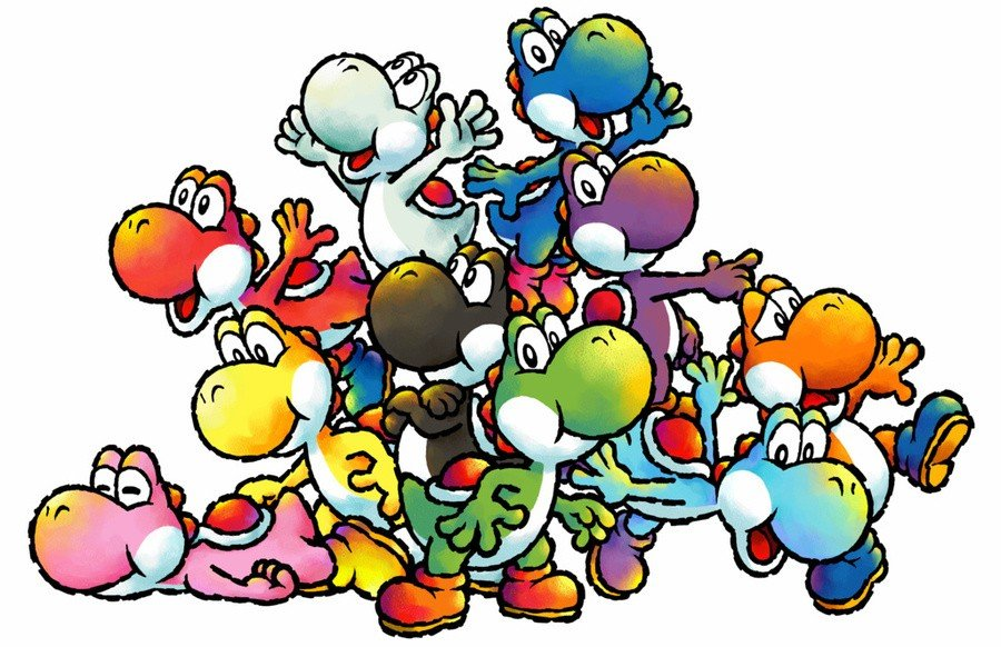 Random: Yoshi From The Super Mario Series Apparently Have Different Names 1