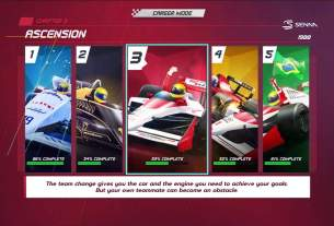 Relive Senna's Challenges and Victories in Horizon Chase Turbo: Senna Forever 4