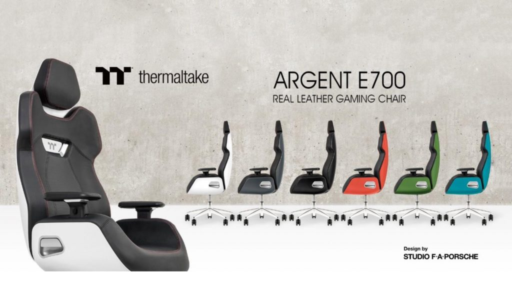 Thermaltake E700 Real Leather Gaming Chairs – by Porsche Design 1