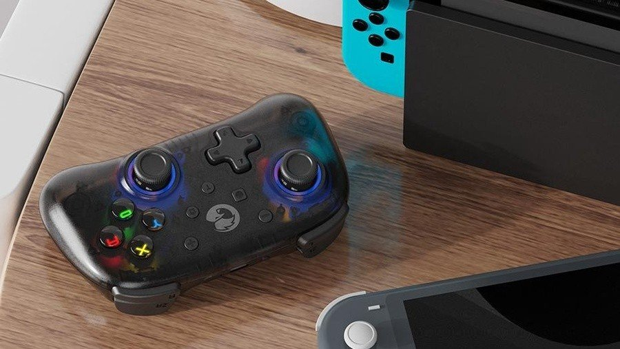 Wish Your Switch Pro Controller Was A Little Bit Smaller? Check Out The T4 Mini 1
