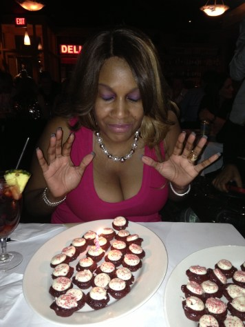 Birthday Prayer over 50 Red Velvet Cupcakes!