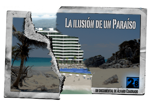Cartel Documental La ilusión de un paraíso
