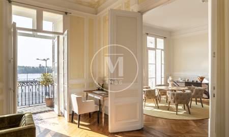 luxe avec terrasse bordeaux