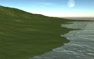 Virtual Creation: Building a Beach
