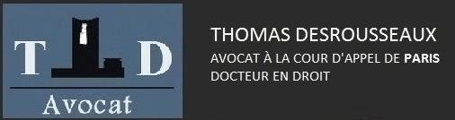 TD AVOCAT PARIS 15