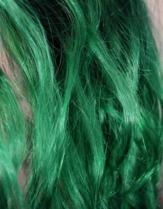 Perfect at home green hair also it ain   easy being diy the achromat rh