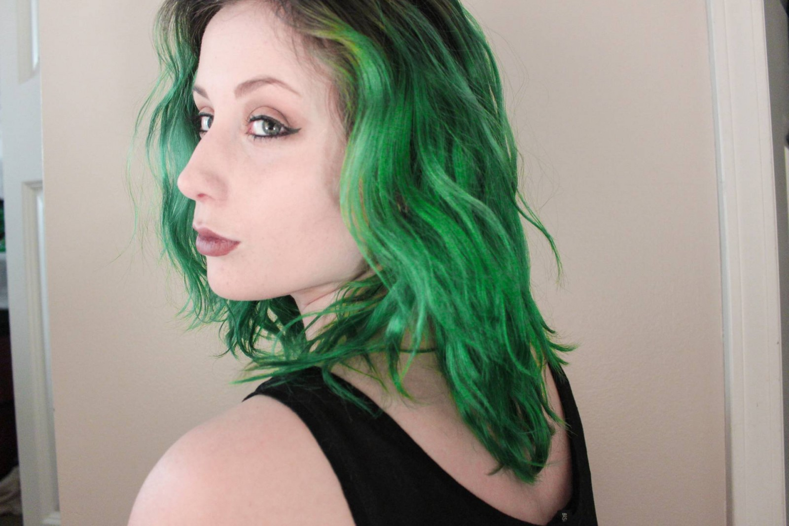 It Aint Easy Being Green DIY Green Hair  The Achromat
