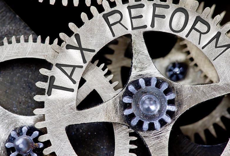 tax reform - gears