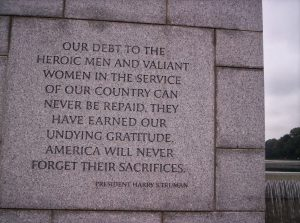 our-debt-to-the-heroic-men-and-valiant-women-in-the-service-of-our-country-can-never-be-repaid-war-quote