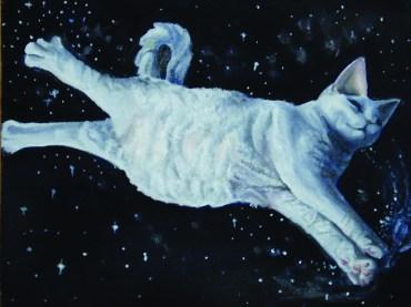 "Natalie Totire ""Cat in Space"""